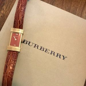Burberry woman's watch